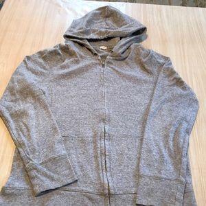 J. Crew zip hoodie